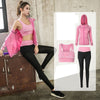 Women Yoga Jogging Sportwear set pink color
