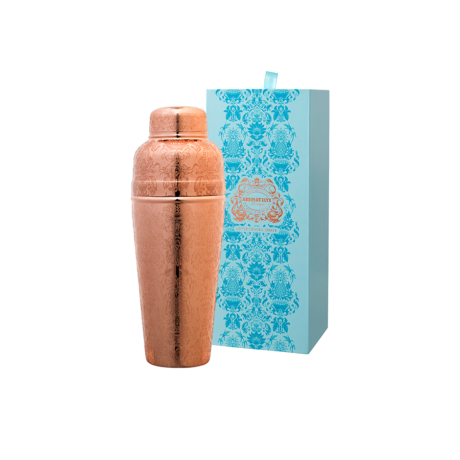 Copper Cocktail Shaker Gift Box
