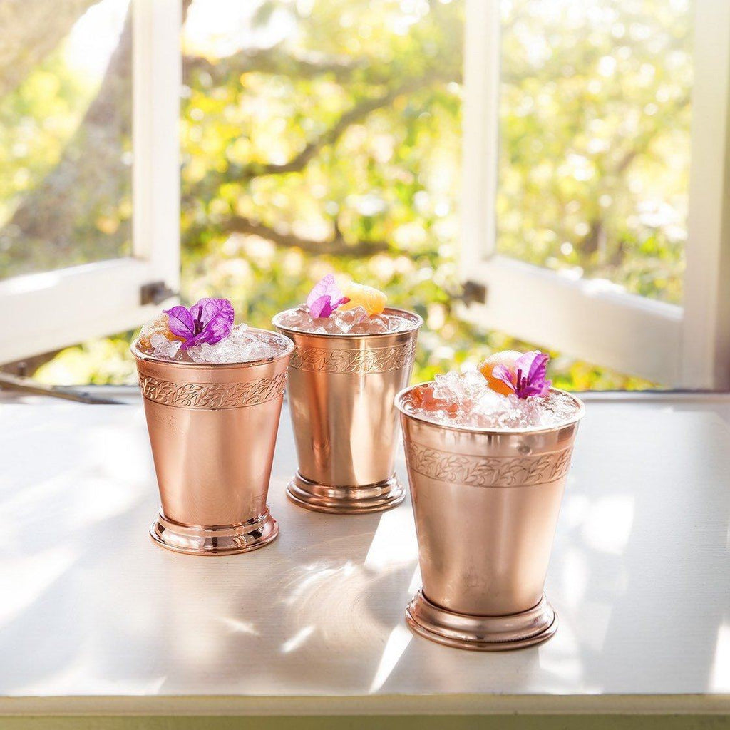 Copper Julep Cup Gift Set Absolut Elyx Boutique