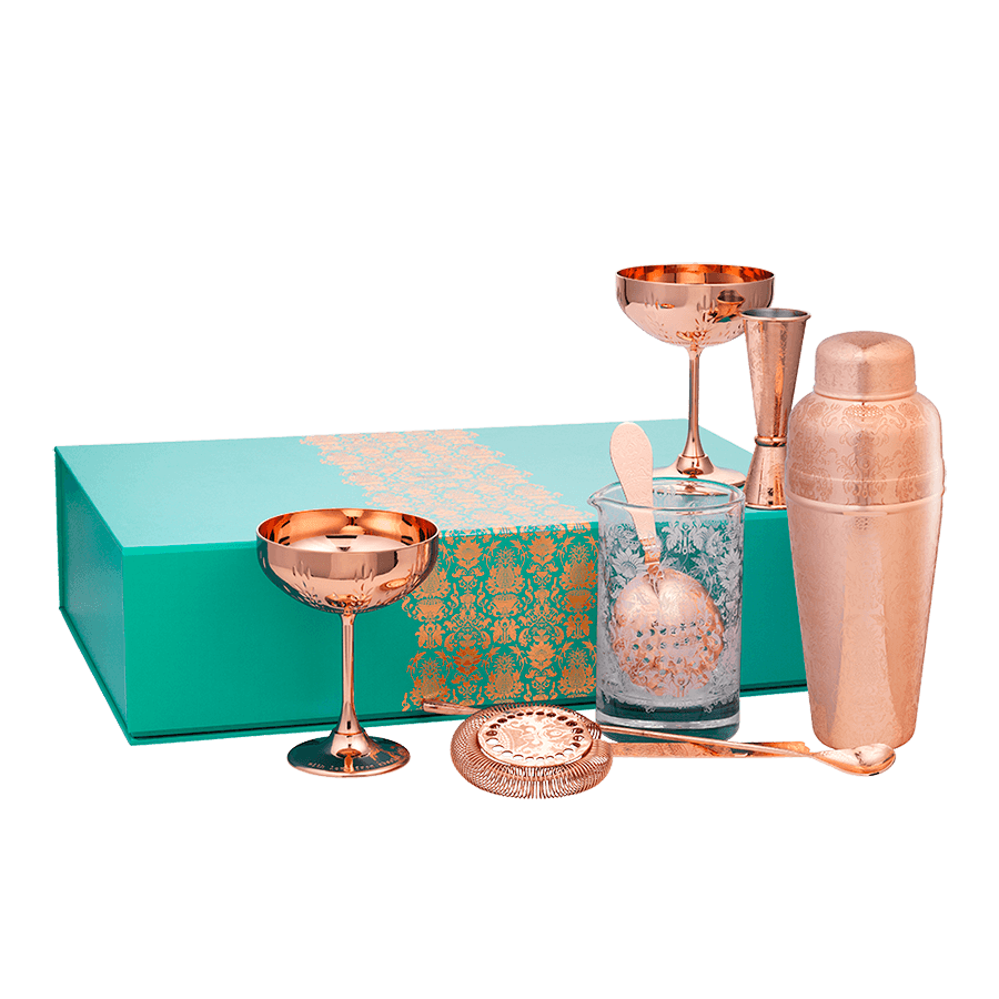Deluxe Martini Gift Set Absolut Elyx Boutique