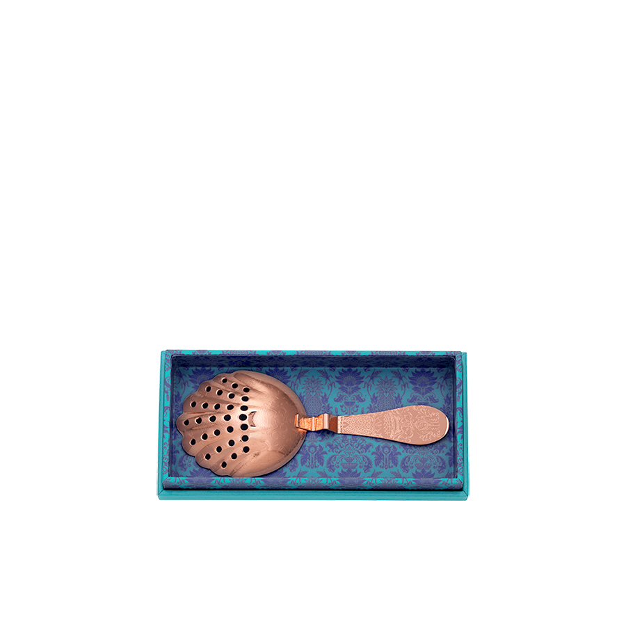 Copper Julep Strainer Gift Box