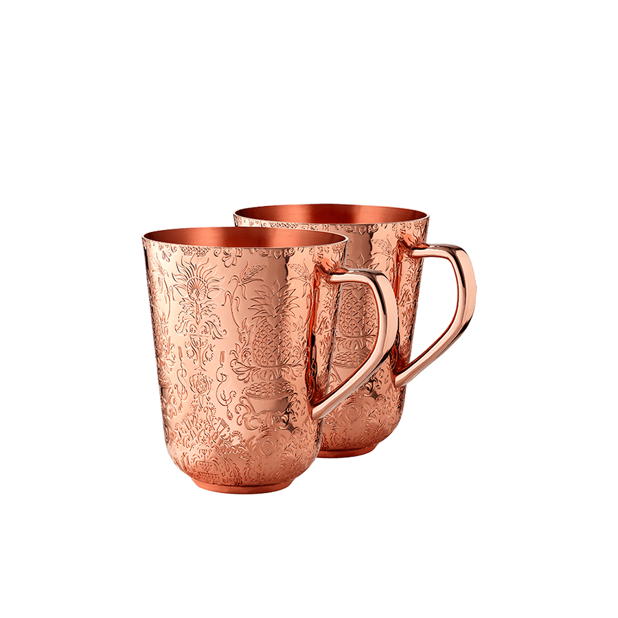 Copper Mule Cups Gift Set
