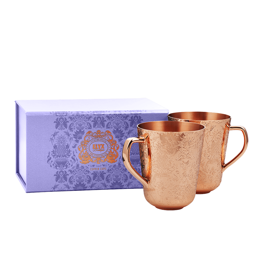 Copper Mule Cups Gift Set Absolut Elyx Boutique