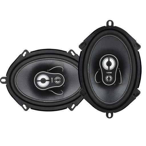 "BL4CK DI4MOND  5 x 7"" 3-WAY COAXIAL SPEAKERS 165 WATTS"