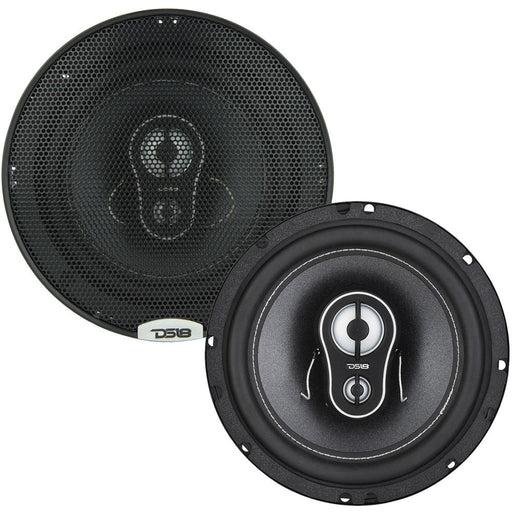 "BL4CK DI4MOND  6.5"" 3-WAY COAXIAL SPEAKERS 165 WATTS"
