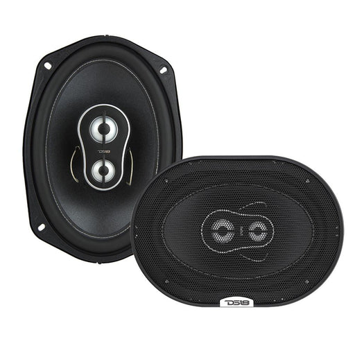 "BL4CK DI4MOND  6 x 9"" 3-WAY COAXIAL SPEAKERS 195 WATTS"