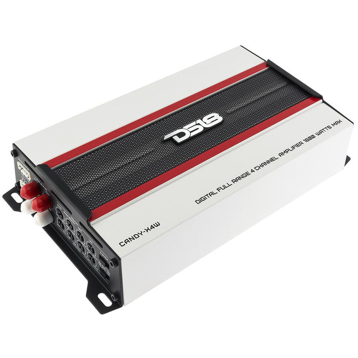 CANDY COMPACT FULL RANGE CLASS D 4 CHANNEL AMPLIFIER 1600 WATTS