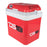 LIFESTYLE AC/DC TRAVEL THERMOELECTRIC COOLER AND WARMER WITH WHEELS - 24 L CAPACITY,RED