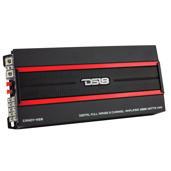 CANDY COMPACT FULL RANGE CLASS D 5 CHANNEL AMPLIFIER 2000 WATTS