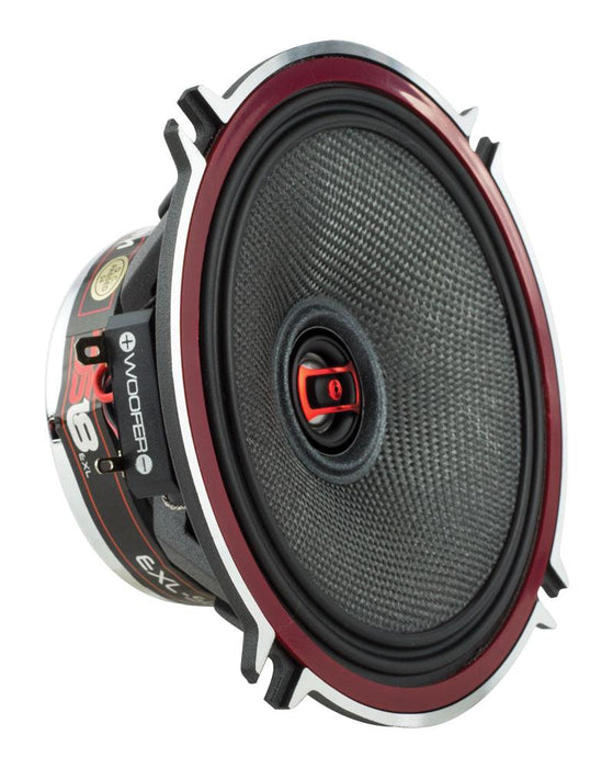 "EXL 5.25"" 3 OHM 2-WAY COAXIAL SPEAKER 340 WATTS WITH FIBER GLASS CONE"