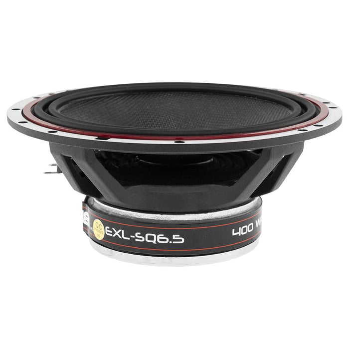 "EXL 6.5"" 3-OHM 2-WAY COAXIAL SPEAKER 400 WATTS WITH FIBER GLASS CONE"