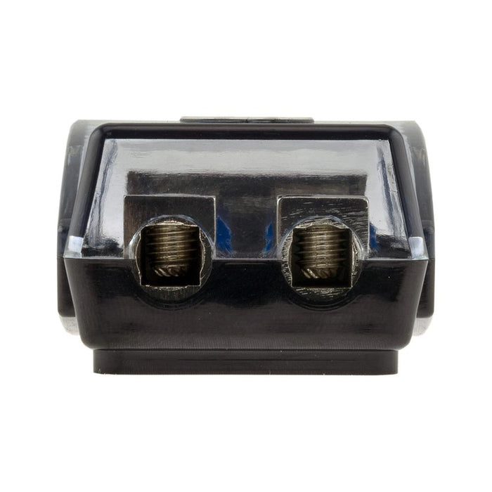 AFS MINI ANL FUSE HOLDER AND DISTRIBUTION BLOCK 1x0GA   2x4GA IN - 2x8GA OUT WITH 60A FUSES