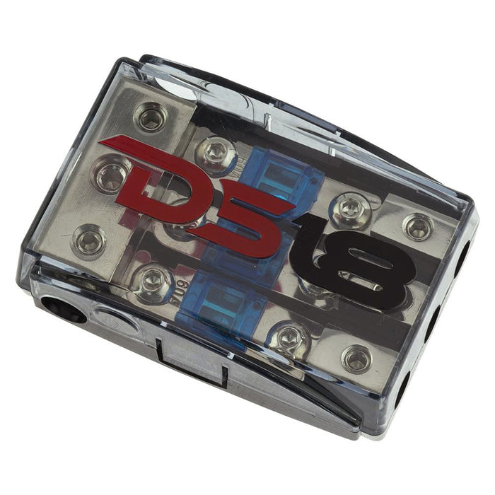 AFS MINI ANL FUSE HOLDER AND DISTRIBUTION BLOCK 1x0GA   2x4GA IN - 3x8GA OUT WITH 60A FUSES