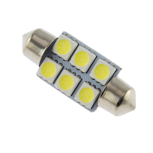 VISION LED Bulb  FESTON 36MM 5050 6SMD White Pack Of 10