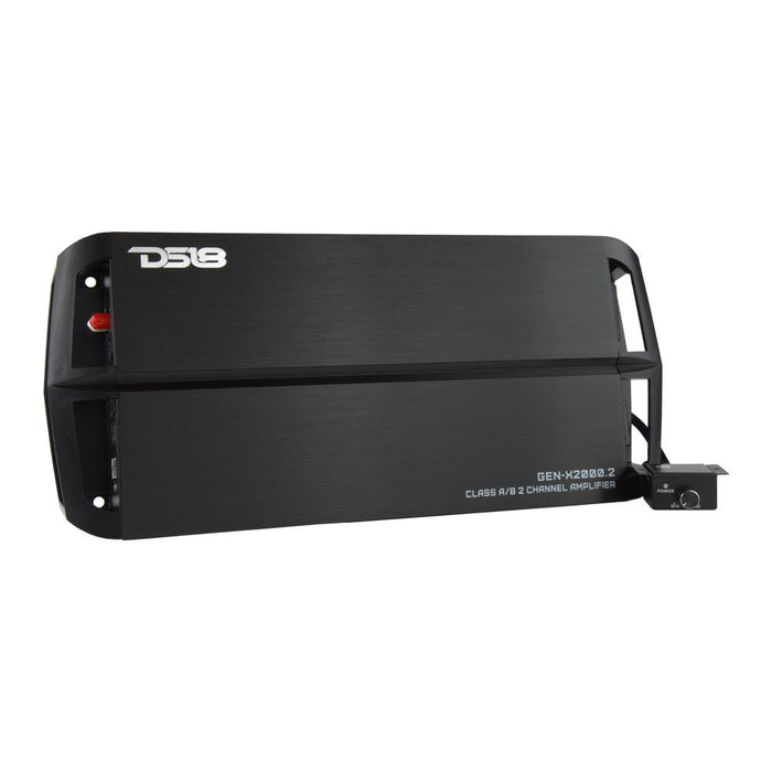 GEN-X FULL RANGE CLASS AB 2 CHANNEL AMPLIFIER 2000 WATTS