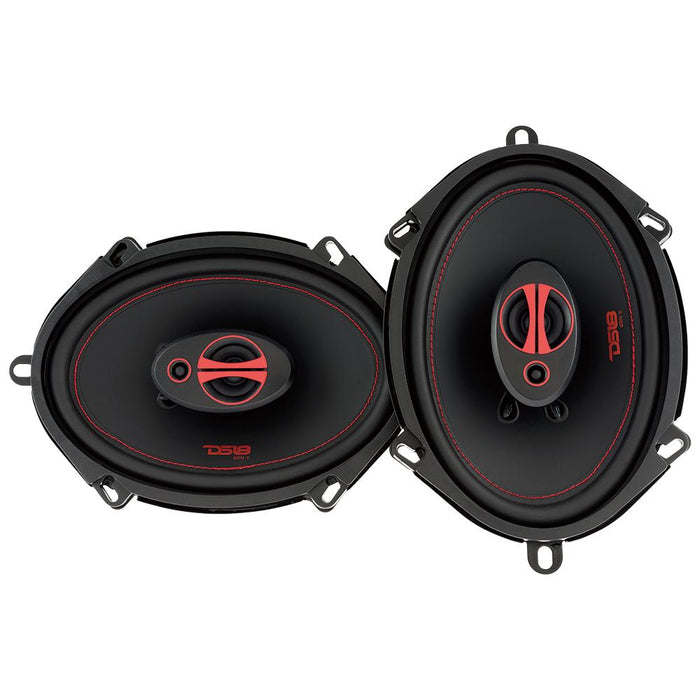 "GEN-X 5x7"" 3-WAY COAXIAL SPEAKERS 165 WATTS"