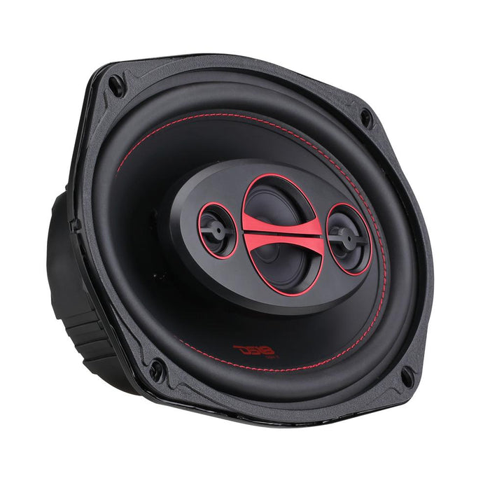"GEN-X 6x9"" 4-WAY COAXIAL SPEAKERS 180 WATTS"