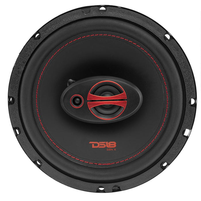 "GEN-X 6.5"" 3-WAY COAXIAL SPEAKERS 150 WATTS"