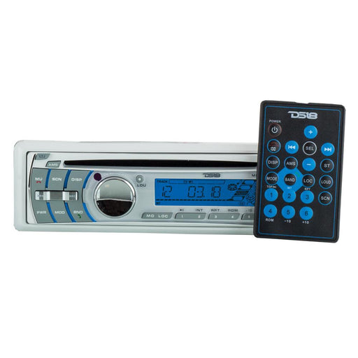 HYDRO SINGLE-DIN AM/FM, CD PLAYER, BLUETOOTH, USB