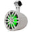 "HYDRO 6"" SLIM WAKEBOARD POD TOWER SPEAKER WITH INTEGRATED RGB LED LIGHTS 300 WATTS (PAIR)"
