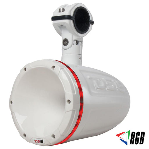 "HYDRO 1.75""  DRIVER WAKEBOARD POD TOWER SPEAKER WITH INTEGRATED RGB LED LIGHTS 900 WATTS (SINGLE)"