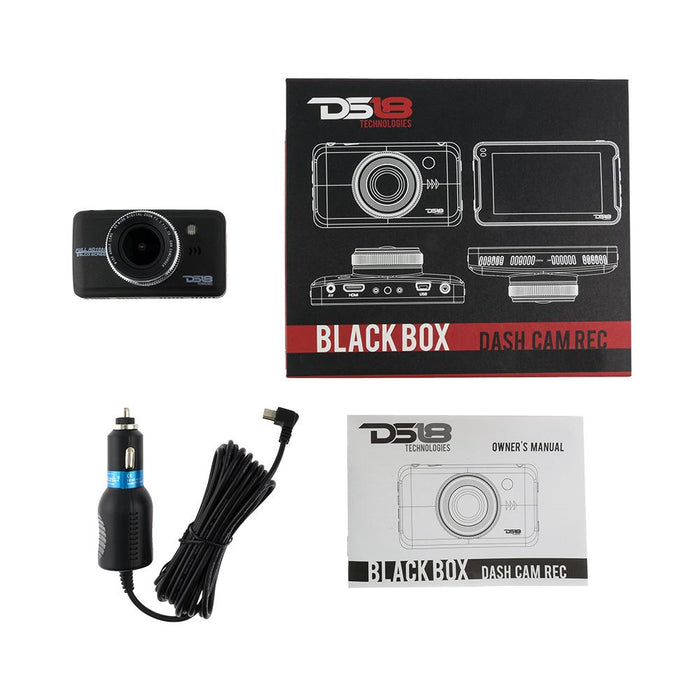 DASH CAM RECORDER 1080P, FULL HD WITH G-SENSOR
