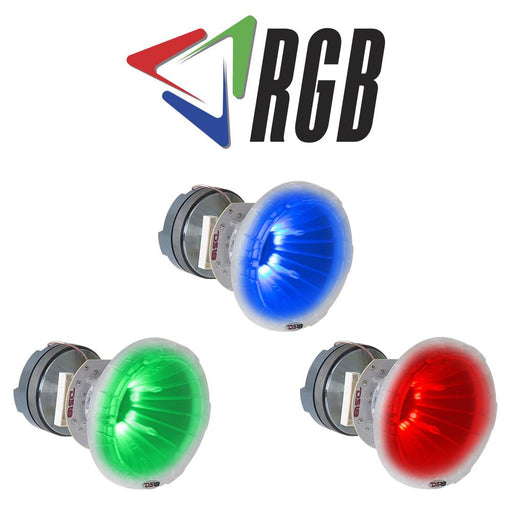 "PRO 1.75"" RGB POLY-CARBONATE COMPRESSION DRIVER WITH HORN AND CROSSOVER 700 WATTS"