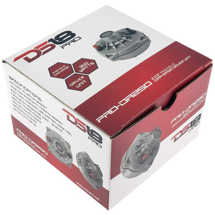 "PRO 2"" PHENOLIC COMPRESSION DRIVER 300 WATTS"