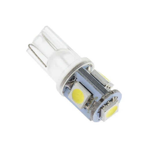 VISION LED BULB T10 5050 4SMD WHITE PACK OF 10