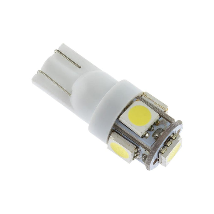 VISION LED Bulb T10 5050 5SMD White Pack Of 10