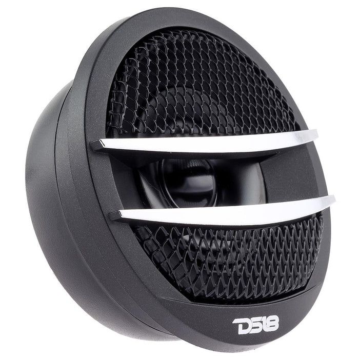 "1.38"" PEI DOME FERRITE TWEETER VC 200 WATTS WITH MOUNTING KIT ANGLE, FLUSH, & SURFACE PAIR"