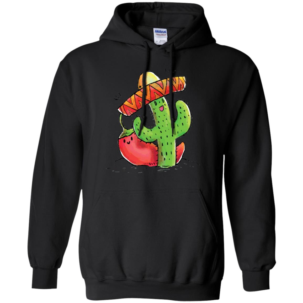 Cinco De Mayo Cactus and Chili Pepper Funny T Shirt