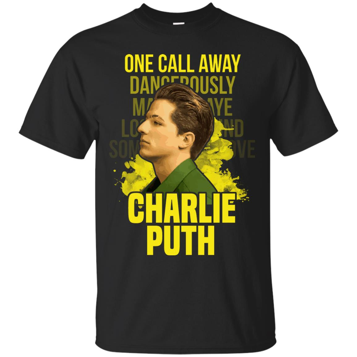 Charlie Puth One Call Away Dancerously T Shirt