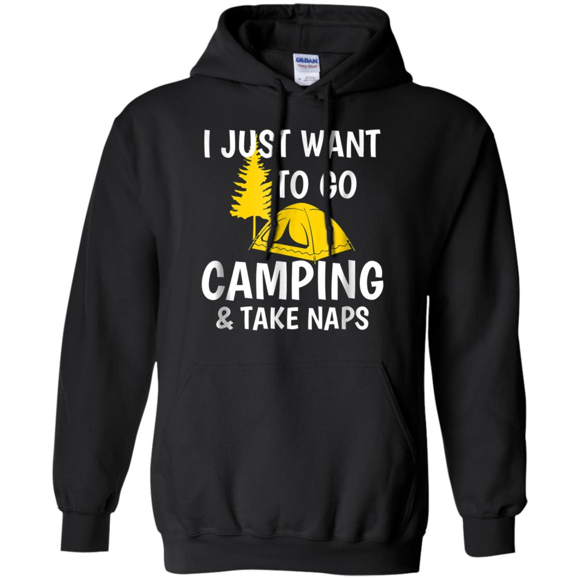 Camp and Nap Outdoors Funny Tshirt For Men and Women