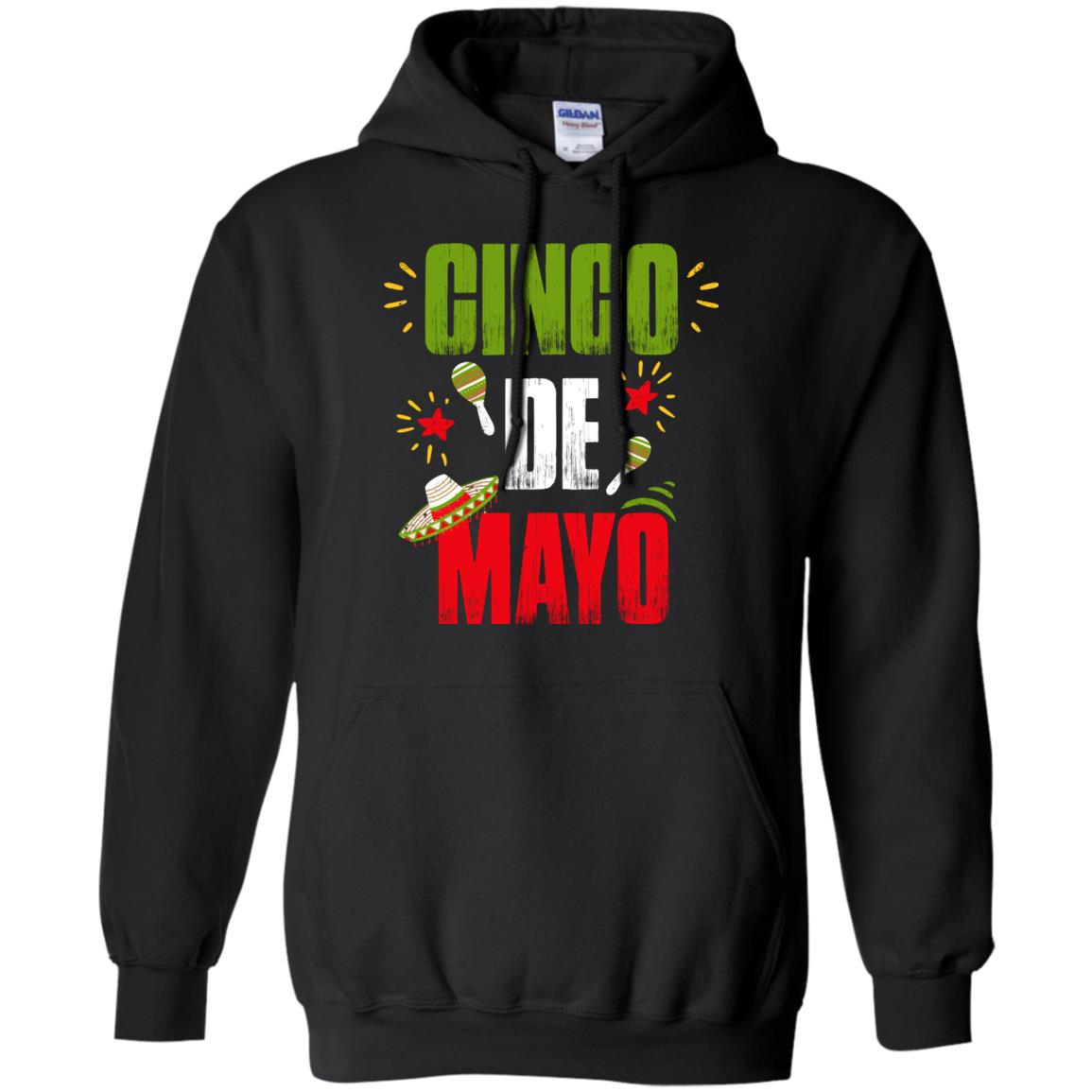 Cinco De Mayo Shirt for Men   Women  Mexican Sombrero Hat