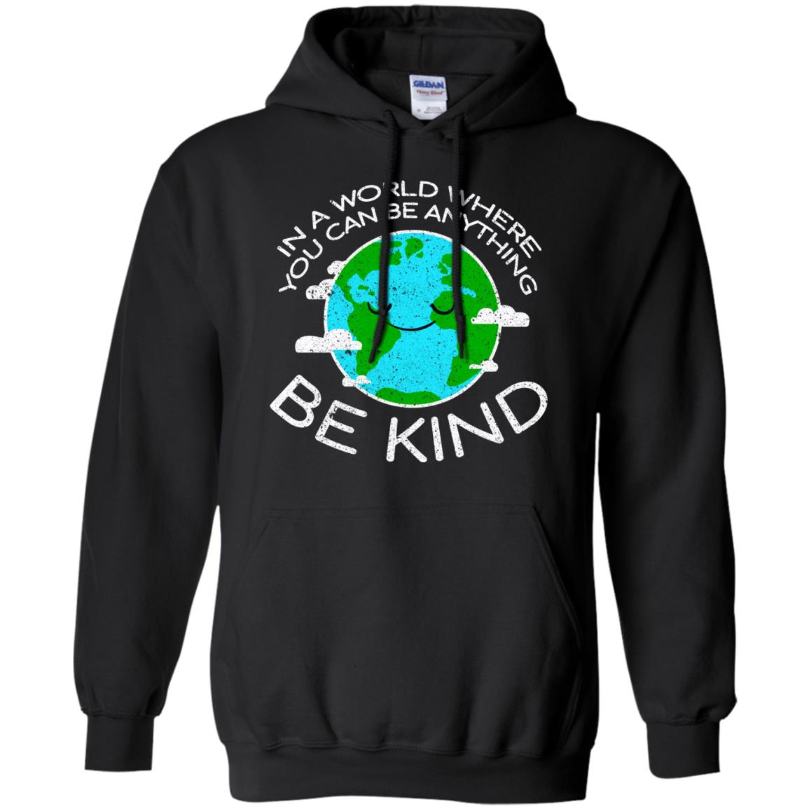 Be Kind Mother Earth Day Distressed T Shirt