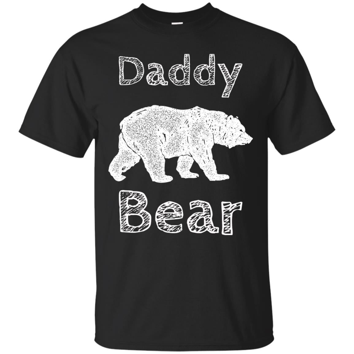 Camping Shirts for Men Funny Daddy Bear T Shirt Fathers Day