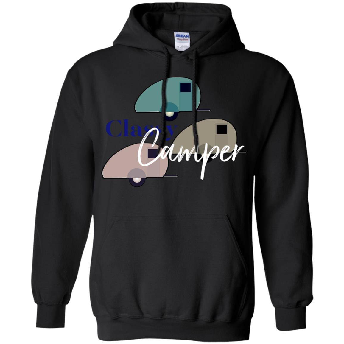 Classy Camper is a Happy Camper Glamping T Shirt
