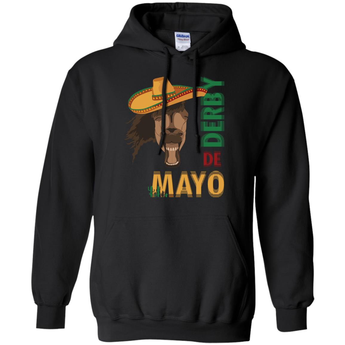 Cinco De Derby Sombrero Horse Derby De Mayo Party Shirts
