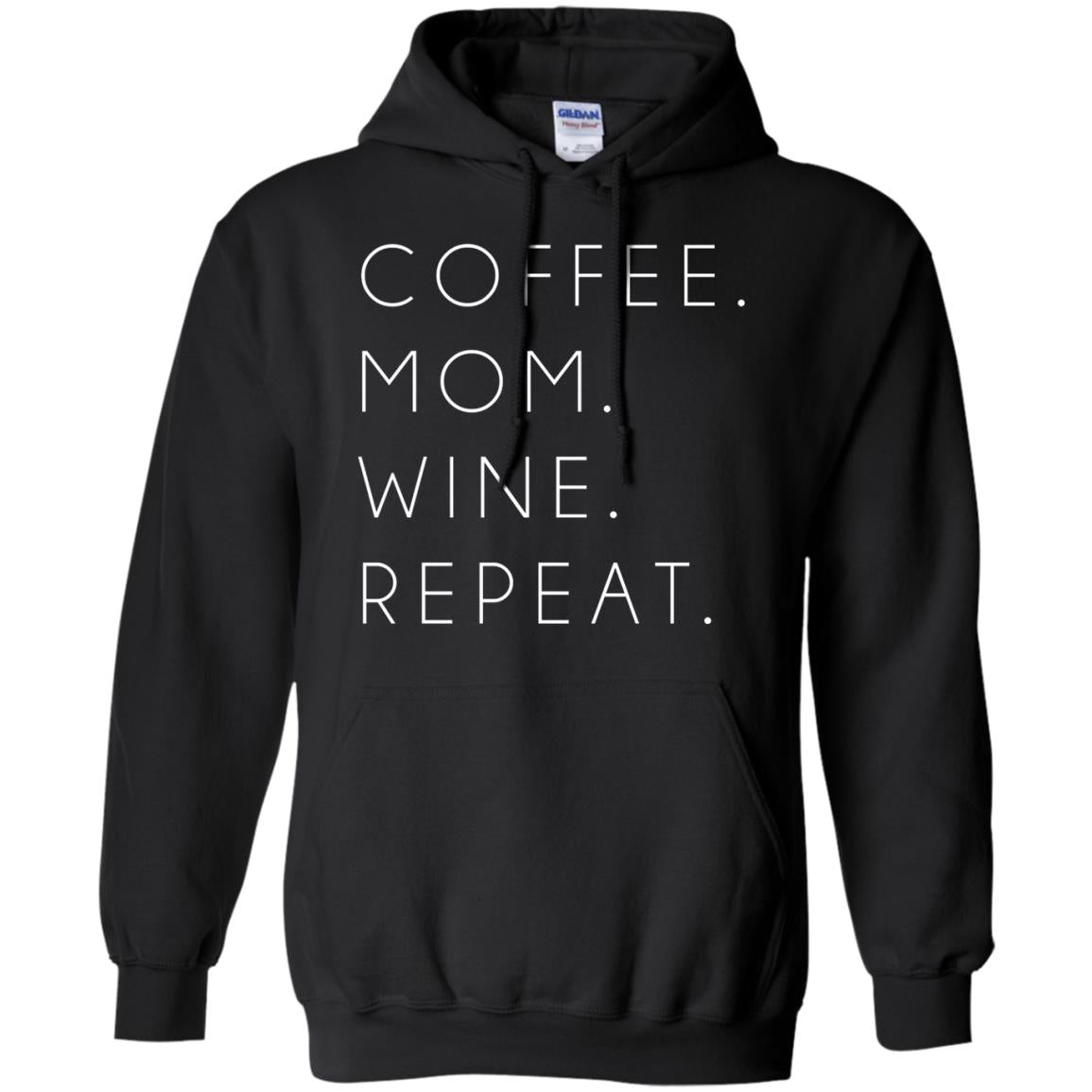 Coffee Mom Wine Repeat Shirt