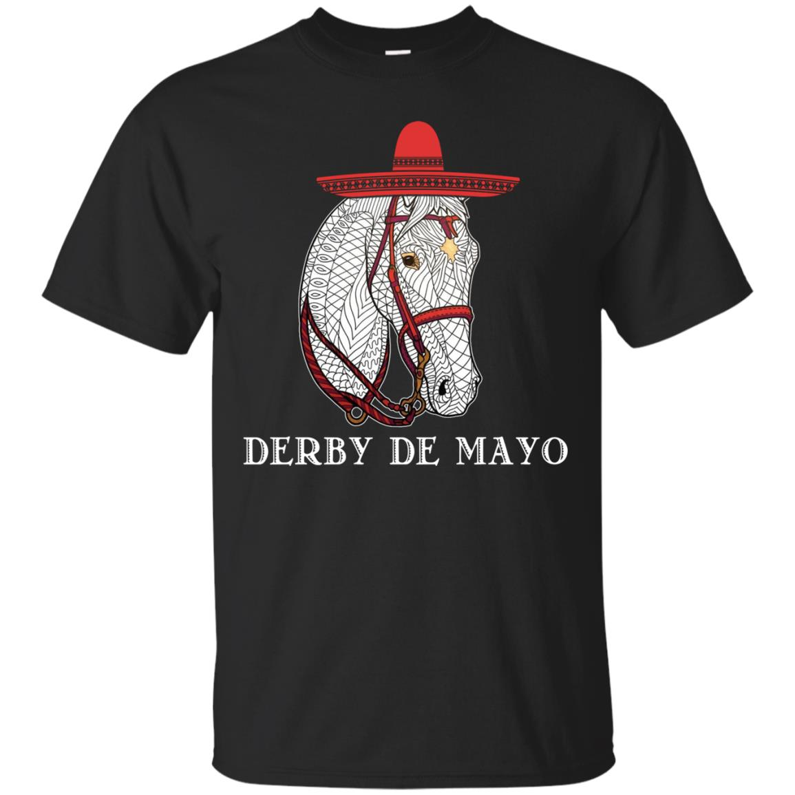 Cinco De Derby Kentucky Horse Race Mexican T Shirts