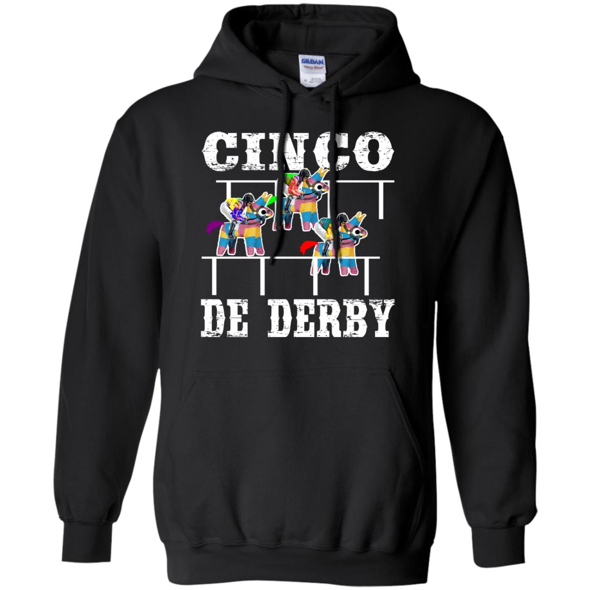 Cinco De Derby De Mayo Kentucky Horse Race Mexican T Shirt