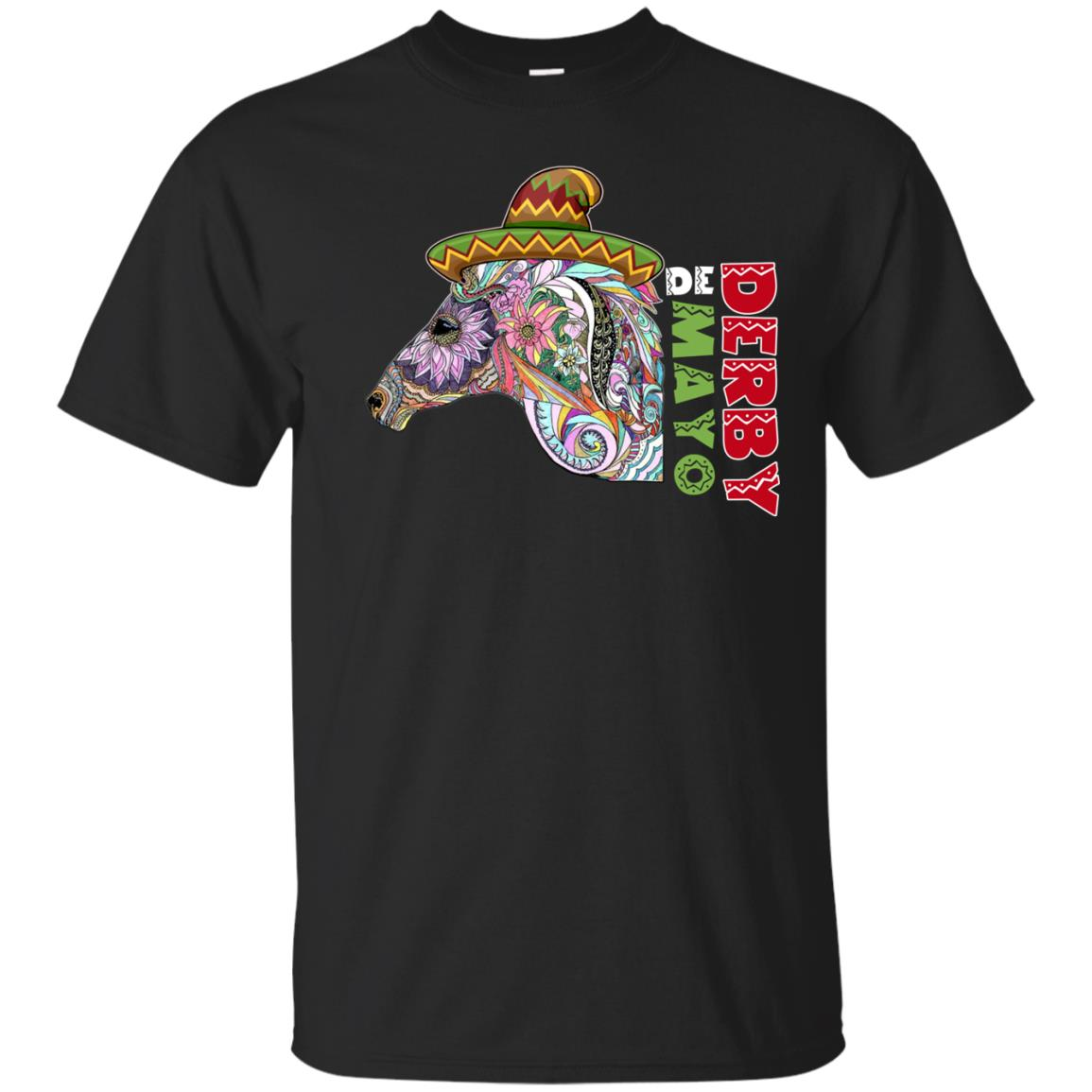 Cinco De Derby Kentucky Horse Race Mexican TShirts