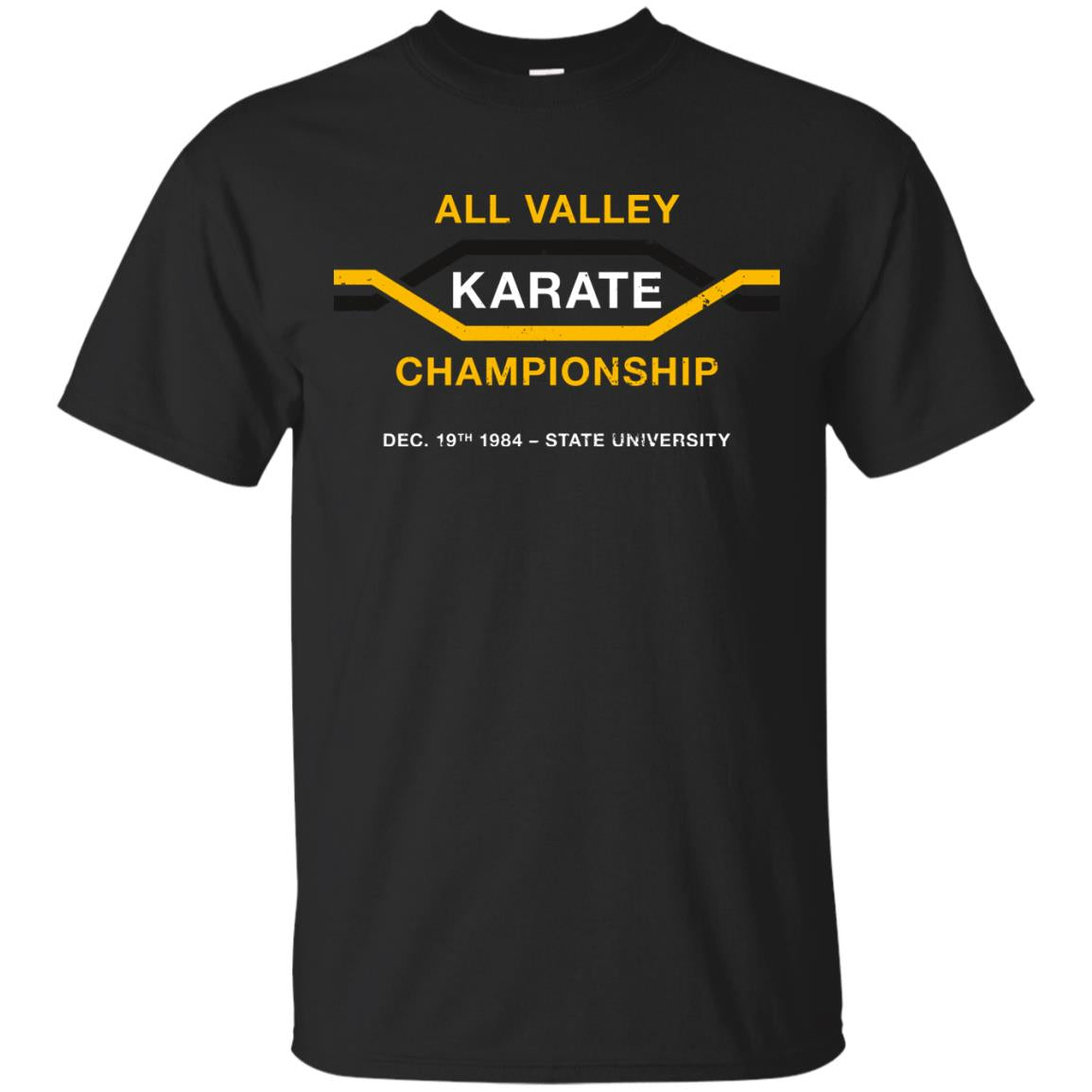 All Valley Karate Championship  aged look  T Shirt