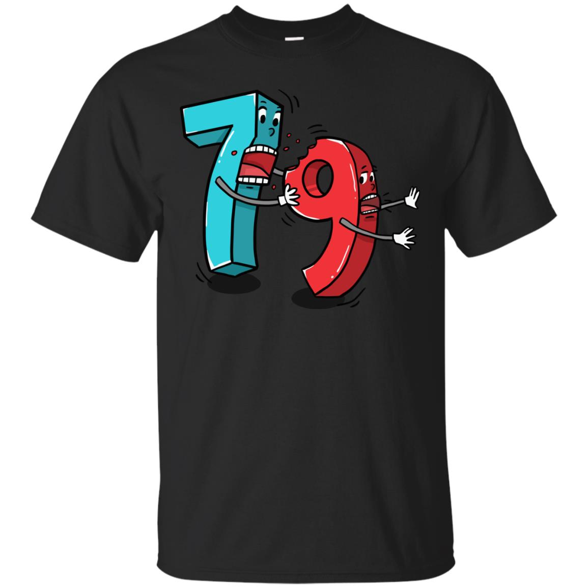 7 ate 9 Funny Math T Shirt