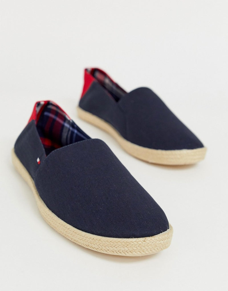 650be5e98 Tommy Hilfiger espadrille with contrast panel and flag in navy