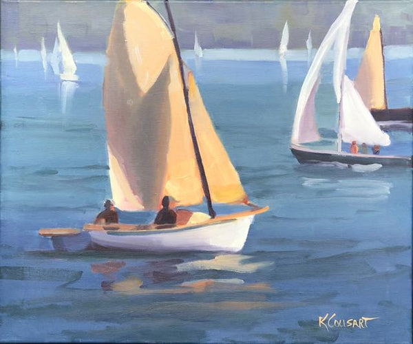 Boats On The Water, 20x24 Oil