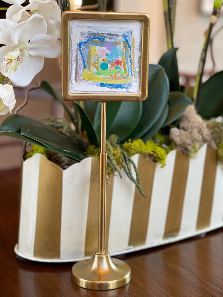 Little Blessing # 16 in Gold Telescoping Frame, 4x4