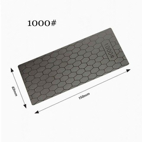EECOO Professional 400 or 1000 Thin Diamond Sharpening Stone Knives Diamond Plate Whetstone Knife Sharpener Grinder Honing Tools