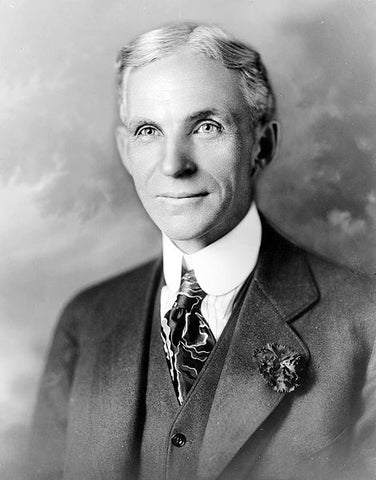 Inventor Henry Ford (1863-1947)